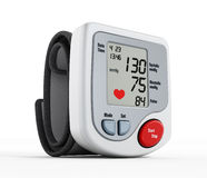 Digital blood pressure monitor Royalty Free Stock Images