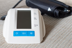 Digital blood pressure Stock Photos