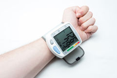 Digital blood pressure  Royalty Free Stock Photo