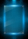 Digital blue background Stock Image