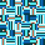 Digital blue pattern Stock Photos