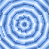 Digital Blue Radial Design Stock Photo