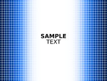 Digital Blue Square Background Stock Images