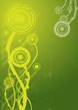 Digital-Blumenauszugshintergrund Stockbild
