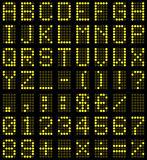 Digital Board Letters & Numbers