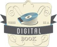 Digital bok Arkivfoto