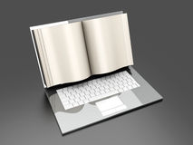 Digital Book Stock Photo