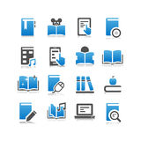 Digital Book icon Royalty Free Stock Images