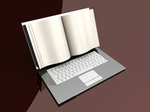 Digital Book Royalty Free Stock Photography
