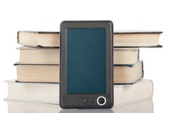 Digital book reader Royalty Free Stock Images