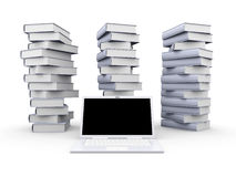 Digital Books Royalty Free Stock Image