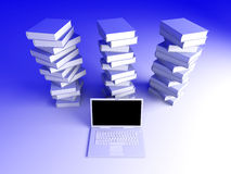 Digital Books Stock Images