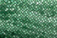 Digital bubbles. Background of Offset bubbles. Green Royalty Free Stock Images