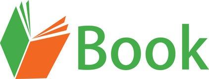 Digital-Buch und Logobilder Stockfoto