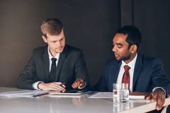 Digital business in the boardroom Stock Photos