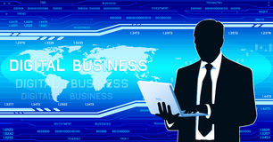 Digital business Stock Photo