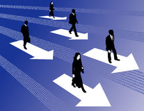 Digital business success Stock Image