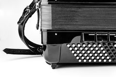 Digital button accordion Royalty Free Stock Photography