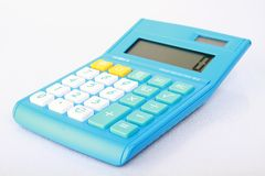 Digital calculator. Royalty Free Stock Photography