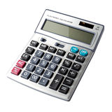 Digital calculator Royalty Free Stock Photos