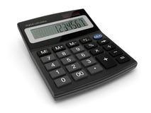 Digital calculator. 3d-illustration on white background Stock Images