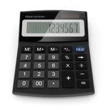 Digital calculator. 3d-illustration on white background Stock Photo