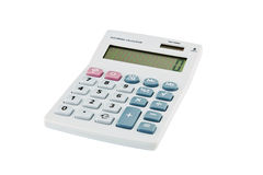 Digital calculator Royalty Free Stock Photo