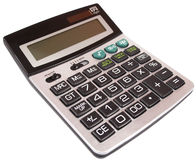 Digital calculator Stock Image