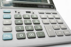 Digital calculator Royalty Free Stock Images