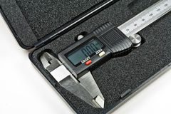 Digital caliper Stock Photo