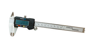 The digital caliper Royalty Free Stock Image
