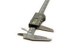 Digital Caliper Stock Image