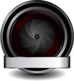 Digital cam icon Stock Images