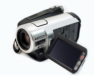 Digital camcorder Royalty Free Stock Photos