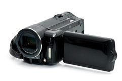 Digital camcorder Royalty Free Stock Images