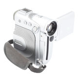Digital camcorder isolated on white background. Isolated object Royalty Free Stock Photography
