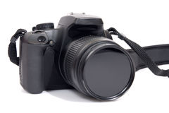 Digital camera. Isolated on whiteMore electronics here:ElectronicsIsolated on white Stock Photos