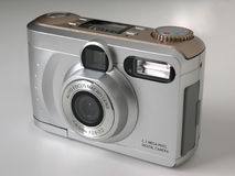 Digital Camera. Point and shoot digital camera stock image