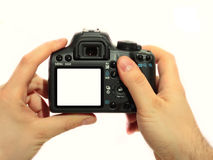Digital camera Royalty Free Stock Image