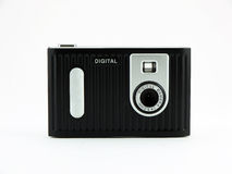 Digital Camera. Photo of a digital camera shot on a white background Royalty Free Stock Images