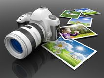 Digital camera Royalty Free Stock Photos
