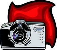 Digital Camera. Illustration Stock Photo