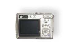 Digital camera. Back from a compact digital camera stock photo