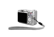 Digital Camera. This image shows back side from a digital camera stock images