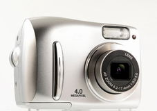 Digital camera. Isolated stock images