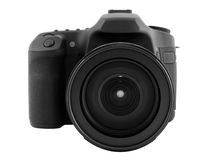 Digital camera. With clipping path Stock Images