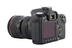 Digital camera. With clipping path Stock Photography