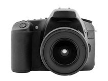 Digital camera. With clipping path Stock Photos