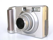 Digital Camera. Digital P&S camera royalty free stock photography