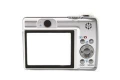 The digital camera. Isolated over white background Stock Image